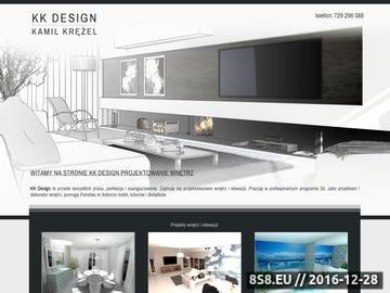 Zrzut strony KK Design: projektowanie wnętrz Krościenko nad Dunajcem