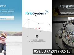 Miniaturka domeny www.kriosystem.com.pl