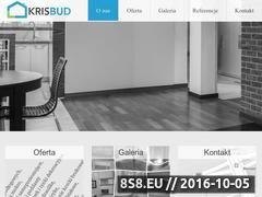 Miniaturka domeny www.kris-bud.eu