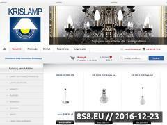 Miniaturka domeny www.krislamp.pl