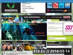 Miniaturka domeny krokodyle.com.pl