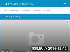 Miniaturka domeny www.krolestwolazienek.pl