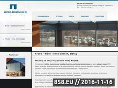 Miniaturka domeny www.krone-aluminium.pl