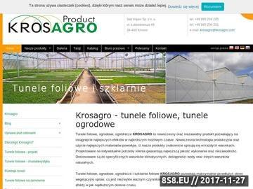 Zrzut strony Producent tuneli foliowych