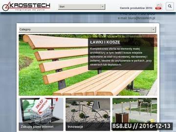Zrzut strony Producent ławek parkowych i ogrodowych