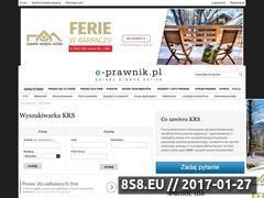 Miniaturka domeny krs.e-prawnik.pl
