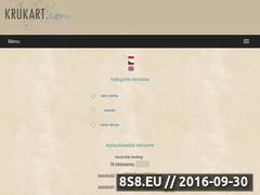 Miniaturka domeny www.krukart.com