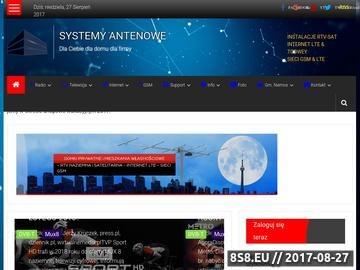 Zrzut strony Profesjonalny Serwis Telewizji Cyfrowej