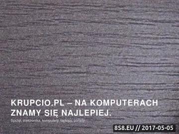 Zrzut strony Krupcio.pl Sklep z odzieżą niemowlęcą