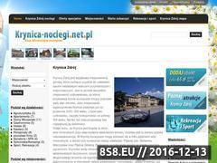 Miniaturka domeny www.krynica-noclegi.net.pl