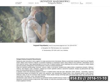 Zrzut strony Fotografia ślubna Lublin