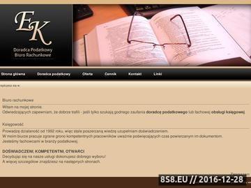 Zrzut strony Doradca podatkowy Jelenia Góra - Krzywicka biuro