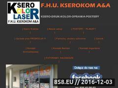 Miniaturka domeny kserokom.com.pl