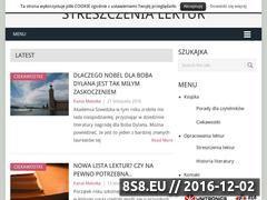 Miniaturka domeny ksiazkomania.yum.pl