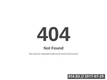 Zrzut strony Ksiega gości na stronie