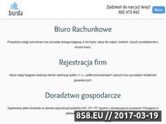 Miniaturka domeny www.ksiegowosc-burda.pl