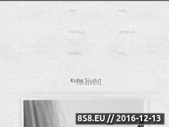Miniaturka domeny www.kubasiudut.pl