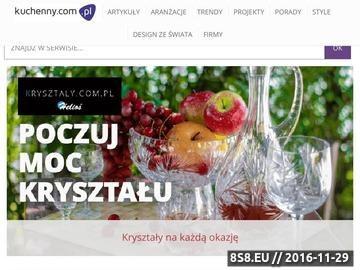Zrzut strony Kuchenny.com.pl - Serwis o kuchniach