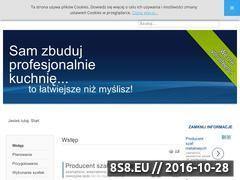 Miniaturka domeny www.kuchnia-zrob-to-sam.pl