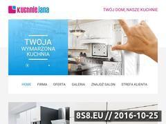 Miniaturka domeny kuchniejana.pl