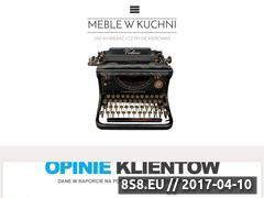 Miniaturka domeny kuchniemeble.com.pl