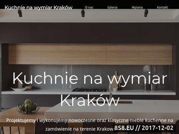 Zrzut strony Kuchnie na wymiar Kraków