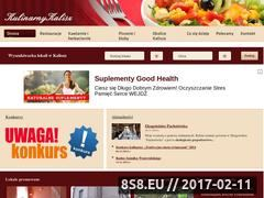 Miniaturka domeny www.kulinarnykalisz.pl