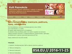 Miniaturka domeny www.kult-paznokcia.pl
