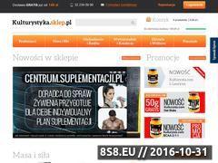 Miniaturka domeny www.kulturystyka.sklep.pl