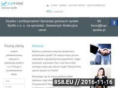 Miniaturka domeny kup-firme.pl