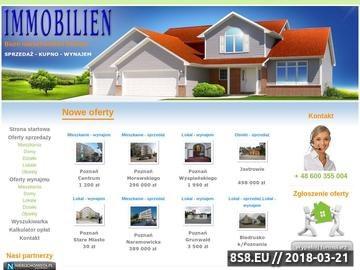 Zrzut strony Biuro nieruchomości Poznań Immobilien