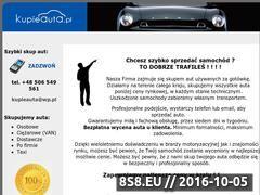 Miniaturka domeny www.kupieauta.pl