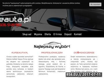 Zrzut strony Skup aut Warszawa