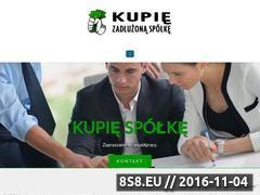 Miniaturka domeny www.kupiezadluzonaspolke.pl