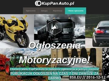 Zrzut strony Ogólnopolskie Ogłoszenia Motoryzacyjne