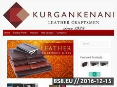 Thumbnail of Kurgan Kenani Leather Website