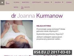 Miniaturka domeny www.kurmanow.pl