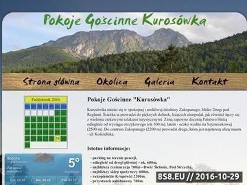 Zrzut strony Kurosówka - noclegi