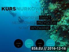 Miniaturka domeny www.kurs-nurkowy.pl