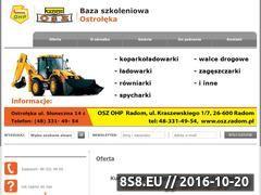 Miniaturka domeny kurs-operatora-koparkoladowarki-ostroleka.pl