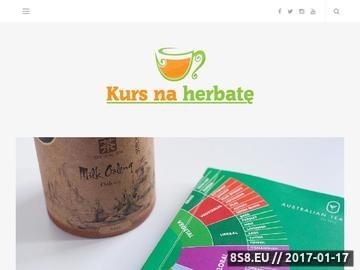 Zrzut strony Informacje na temat herbaty