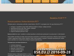 Miniaturka domeny www.kurtynapvc.pl