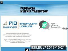 Miniaturka domeny kuzniatalentow.org