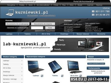 Zrzut strony Laptopy