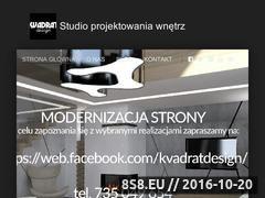 Miniaturka domeny www.kvadratdesign.pl