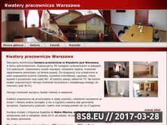 Miniaturka domeny www.kwaterywarszawa.pl
