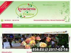 Miniaturka domeny kwiaciarniaduda.pl