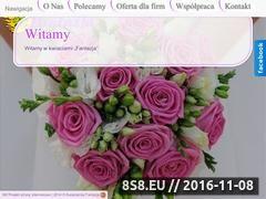 Miniaturka domeny kwiaciarniafantazja.com