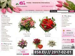 Miniaturka domeny www.kwiaciarniaonline.pl