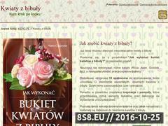 Miniaturka domeny kwiaty-z-bibuly.kepo.pl